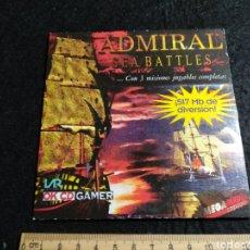 Videojuegos y Consolas: CD ROM. OK CD GAMER. ADMIRAL SEA BATTLE. Lote 219226645