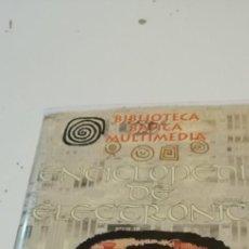 Videojuegos y Consolas: C-8 PC CDROM BIBLIOTECA BASICA MULTIMEDIA ENCICLOPEDIA DE ELECTRONICA. Lote 219231208