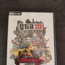 Videojuegos y Consolas: JUEGO PC GTA 3. Lote 219270846
