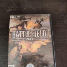 Videojuegos y Consolas: BATTLEFIELD 1942 DELUXE EDITION JUEGO PC. Lote 219271132