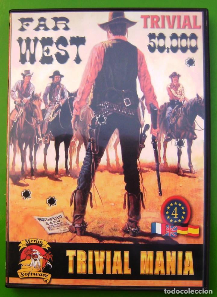 TRIVIAL - FAR WEST - TRIVIALMANIA, JUEGO DE ORDENADOR (Juguetes - Videojuegos y Consolas - PC)