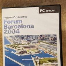 Videojuegos y Consolas: FORUM BARCELONA 2004 CD -ROM. Lote 219491918
