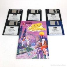 Videojuegos y Consolas: IGOR OBJETIVO UIKOKAHONIA 1ª AVENTURA GRAFICA ESPAÑOLA PENDULO STUDIOS 1994 DRO SOFT DISKETTE 3,5 PC. Lote 220067718