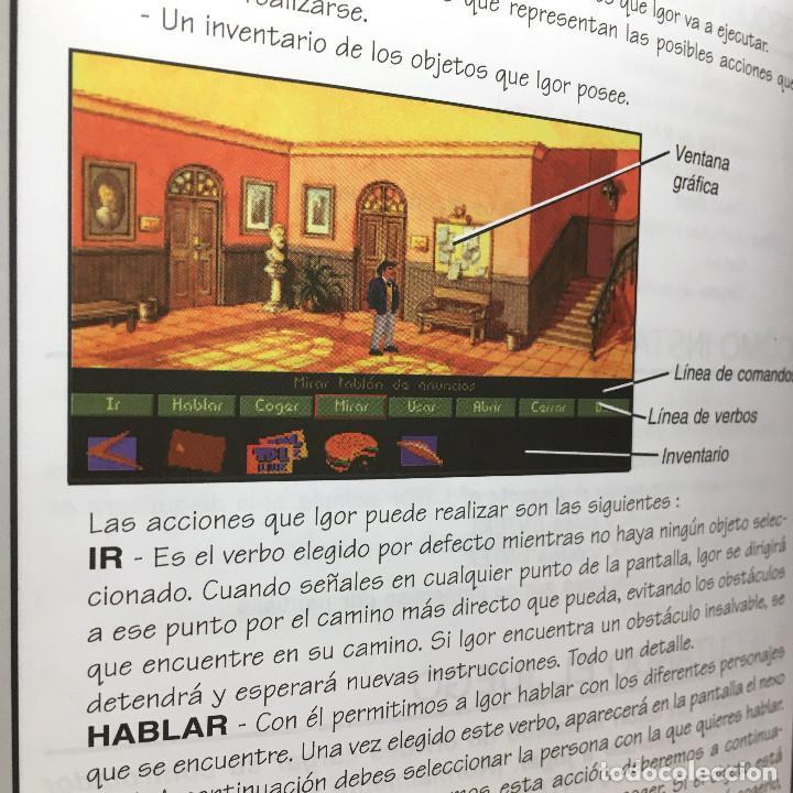 Videojuegos y Consolas: IGOR OBJETIVO UIKOKAHONIA 1ª AVENTURA GRAFICA ESPAÑOLA PENDULO STUDIOS 1994 DRO SOFT DISKETTE 3,5 PC - Foto 2 - 220067718