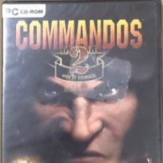 Videogiochi e Consoli: JUEGO PC CD ROM COMMANDOS 2 - PRECINTADO - A ESTRENAR - MEN OF COURAGE. Lote 220128190