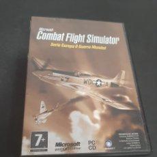Jeux Vidéo et Consoles: PC 529 COMBAT FLIGHT SIMULATOR -JUEGOS PC SEGUNDA MANO. Lote 220192950