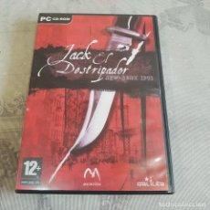 Videojuegos y Consolas: JUEGO DE PC JACK EL DESTRIPADOR. Lote 220227558