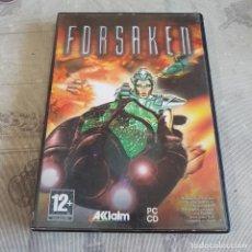 Videojuegos y Consolas: JUEGO DE PC FORSAKEN. Lote 220228011