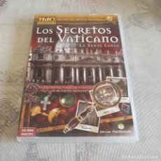 Videojuegos y Consolas: JUEGO DE PC LOS SECRETOS DEL VATICANO. Lote 220229982