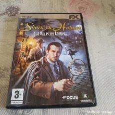 Videojuegos y Consolas: JUEGO DE PC SHERLOCK HOLMES. Lote 220231268