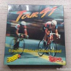 Videojuegos y Consolas: VIDEOJUEGO PRECINTADO PC TOUR 91. TOPO. DISKETTES. NUEVO. NO SPECTRUM, AMSTRAD, MSX, DINAMIC. Lote 220276147