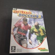 Jeux Vidéo et Consoles: PC 623 ACTÚA SOCCER 3 -JUEGOS PC SEGUNDA MANO. Lote 220356372