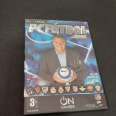 Jeux Vidéo et Consoles: PC 645 PC FÚTBOL 2005 -JUEGOS PC SEGUNDA MANO. Lote 220359392