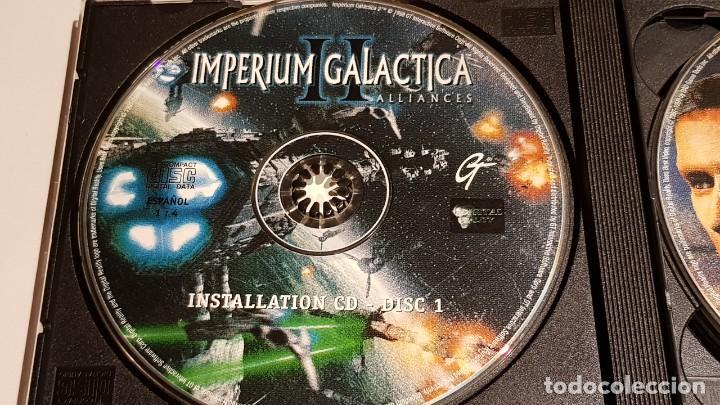 Videojuegos y Consolas: IMPERIUM GALACTICA II / ALLIANCES / EN ESPAÑOL / SOLAMENTE CDS / SIN LIBRETO. - Foto 2 - 220415622