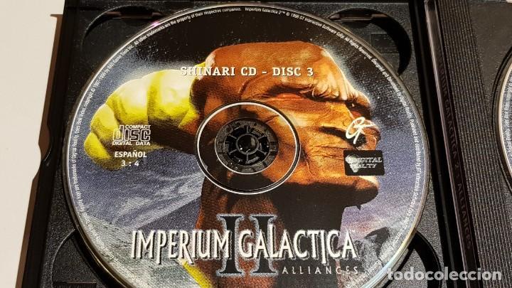 Videojuegos y Consolas: IMPERIUM GALACTICA II / ALLIANCES / EN ESPAÑOL / SOLAMENTE CDS / SIN LIBRETO. - Foto 4 - 220415622