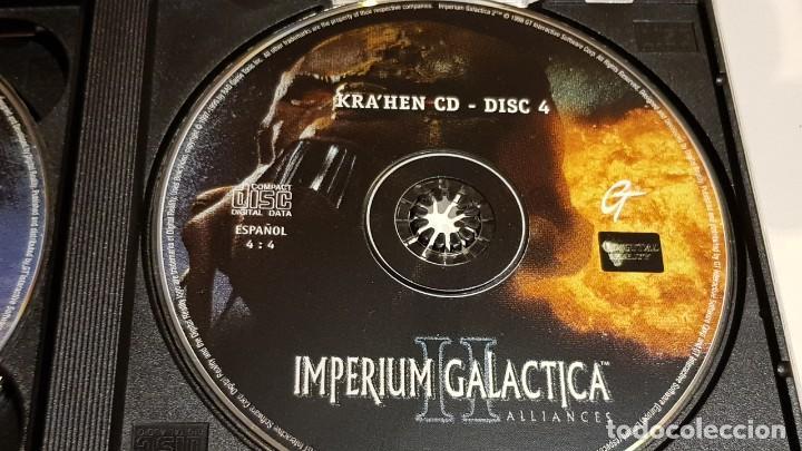 Videojuegos y Consolas: IMPERIUM GALACTICA II / ALLIANCES / EN ESPAÑOL / SOLAMENTE CDS / SIN LIBRETO. - Foto 5 - 220415622