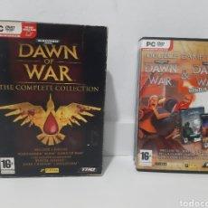 Videojuegos y Consolas: JUEGOS PC DAWN OF WAR 3 JUEGOS LE FALTA UN CD. Lote 220596877