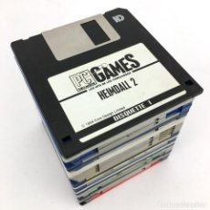 Videojuegos y Consolas: LOTE DISKETTES 3½ PC Y COMMODORE AMIGA FINAL FIGHT KING´S QUEST IV HEIMDALL X-OUT KICK OFF ROBOCOP 2. Lote 220903665