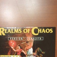 Videojuegos y Consolas: JUEGO PC. REALS OF CHAOS. VERSIÓN COMPLETA. Lote 221074886