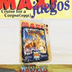 Videojuegos y Consolas: CRUISE FOR A CORPSE [DELPHINE SOFTWARE] 1991-1994 ERBE SOFTWARE [PC MSDOS 3 1/2] MAXIJUEGOS Nº 18. Lote 216862787
