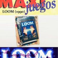 Videojuegos y Consolas: LOOM [LUCASFILM GAMES] 1990-1994 ERBE SOFTWARE [PC MSDOS 3 1/2] MAXIJUEGOS Nº 15. Lote 220082676