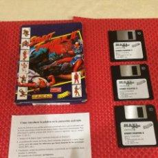 Jeux Vidéo et Consoles: STREET FIGHTER II - CAPCOM USA - ERBE - AÑO 1992 - CAJA - 3 DISKETTES - HOJA. Lote 221316118