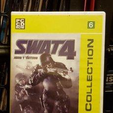 Videojuegos y Consolas: SWAT4 CD ROM. Lote 221344991