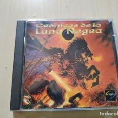 Videojuegos y Consolas: CRÓNICAS DE LA LUNA NEGRA. JUEGO PC. 2CDS. Lote 221524262
