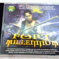 Videojuegos y Consolas: CD-ROM JUEGO PC FORT MILLENIUM JUEGO DE ACCION EN 3-D, GRUPO ZETA , 2001. Lote 221560033