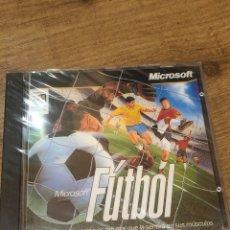 Videojuegos y Consolas: MICROSOFT FUTBOL JUEGO PC 1996 PARA WINDOWS 95 NUEVO PRECINTADO. Lote 221599891