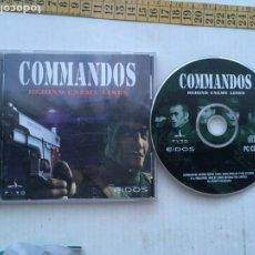 Videojogos e Consolas: COMMANDOS BEHIND ENEY LINES EIDOS PYRO COMANDOS 1 1998 PC CD KREATEN. Lote 260992075