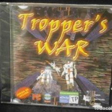 Videojuegos y Consolas: JUEGO DE PC RETRO (AÚN PLASTIFICADO) TROPPER'S WAR. Lote 221627193