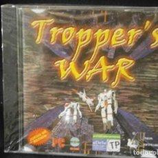Videojuegos y Consolas: JUEGO DE PC RETRO (AÚN PLASTIFICADO) TROPPER'S WAR. Lote 221627202