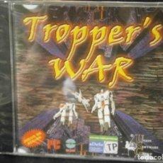Videojuegos y Consolas: JUEGO DE PC RETRO (AÚN PLASTIFICADO) TROPPER'S WAR. Lote 221627205