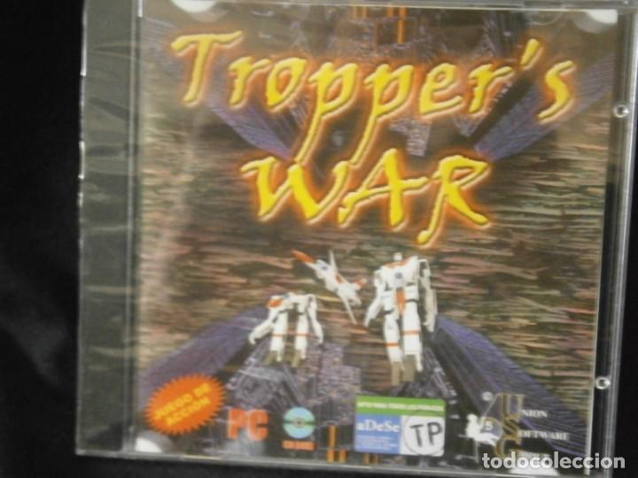 JUEGO DE PC RETRO (AÚN PLASTIFICADO) TROPPER'S WAR (Juguetes - Videojuegos y Consolas - PC)