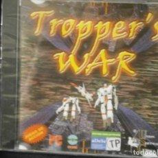 Videojuegos y Consolas: JUEGO DE PC RETRO (AÚN PLASTIFICADO) TROPPER'S WAR. Lote 221627217
