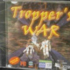 Videojuegos y Consolas: JUEGO DE PC RETRO (AÚN PLASTIFICADO) TROPPER'S WAR. Lote 221627221