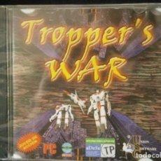 Videojuegos y Consolas: JUEGO DE PC RETRO (AÚN PLASTIFICADO) TROPPER'S WAR. Lote 221627233