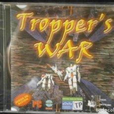 Videojuegos y Consolas: JUEGO DE PC RETRO (AÚN PLASTIFICADO) TROPPER'S WAR. Lote 221627237