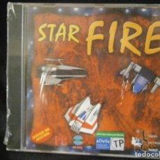 Videojuegos y Consolas: JUEGO DE PC RETRO (AÚN PLASTIFICADO) STAR FIRE. Lote 221627290
