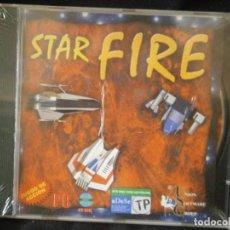Videojuegos y Consolas: JUEGO DE PC RETRO (AÚN PLASTIFICADO) STAR FIRE. Lote 221627331