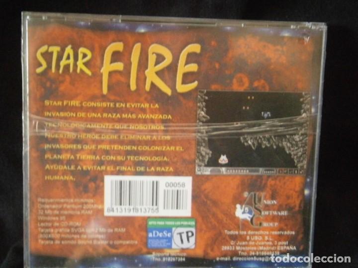 Videojuegos y Consolas: JUEGO DE PC RETRO (AÚN PLASTIFICADO) STAR FIRE - Foto 2 - 221627331