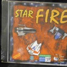 Videojuegos y Consolas: JUEGO DE PC RETRO (AÚN PLASTIFICADO) STAR FIRE. Lote 221627335
