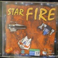 Videojuegos y Consolas: JUEGO DE PC RETRO (AÚN PLASTIFICADO) STAR FIRE. Lote 221627376