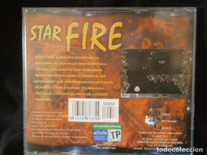 Videojuegos y Consolas: JUEGO DE PC RETRO (AÚN PLASTIFICADO) STAR FIRE - Foto 2 - 221627376