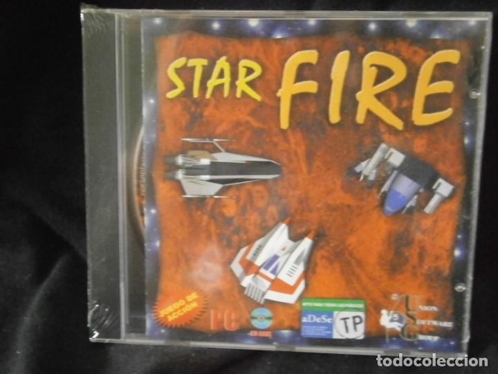 JUEGO DE PC RETRO (AÚN PLASTIFICADO) STAR FIRE (Juguetes - Videojuegos y Consolas - PC)