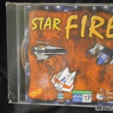 Videojuegos y Consolas: JUEGO DE PC RETRO (AÚN PLASTIFICADO) STAR FIRE. Lote 221627390