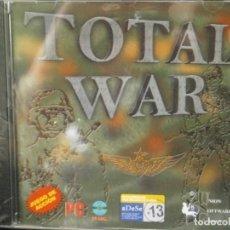 Videojuegos y Consolas: JUEGO DE PC RETRO (AÚN PLASTIFICADO) TOTAL WAR. Lote 221627408