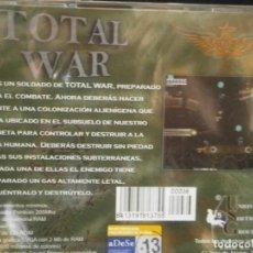 Videojuegos y Consolas: JUEGO DE PC RETRO (AÚN PLASTIFICADO) TOTAL WAR. Lote 221627412
