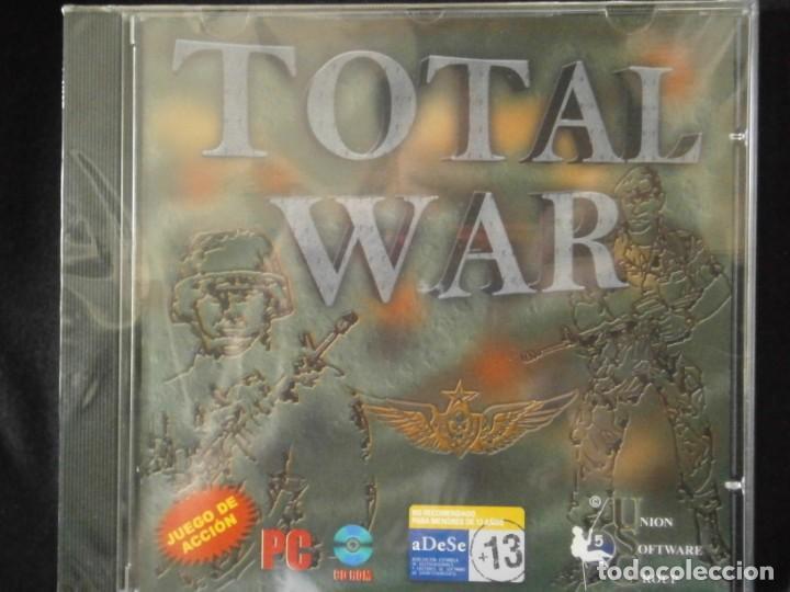 Videojuegos y Consolas: JUEGO DE PC RETRO (AÚN PLASTIFICADO) TOTAL WAR - Foto 2 - 221627412